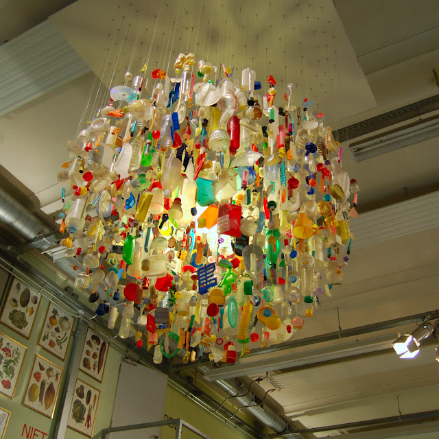 Tide Chandelier by Stuart Haygarth 2004