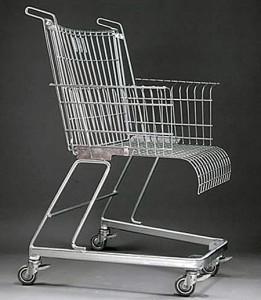 fauteuil caddie recyclé de Frank Schreiner