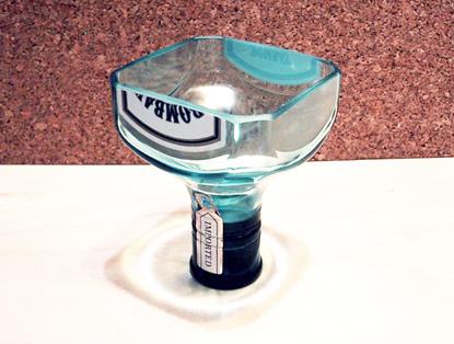 Un verre de Gin parfaitement écologique, crée par Todd Falkowsky.