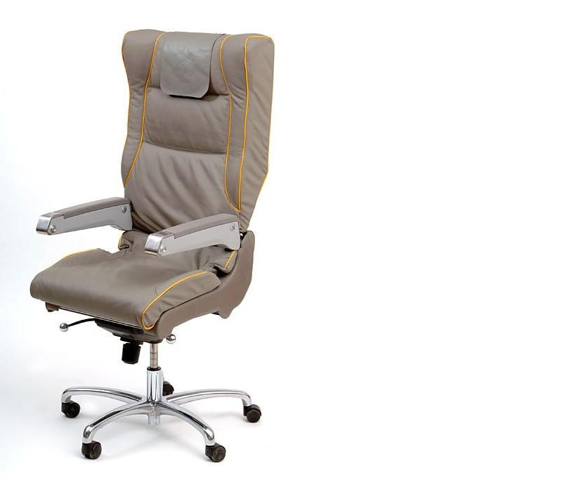 chaise de bureau fabriqué à partir d'un siège d'avion