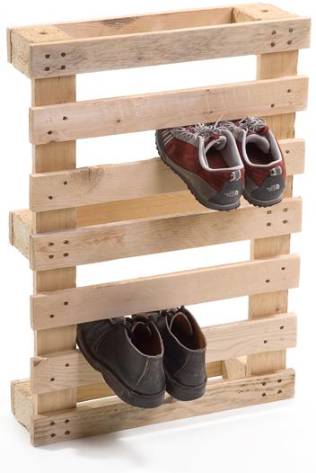 palette range chaussures Des rangemements pour chaussures à partir dune palette recyclée