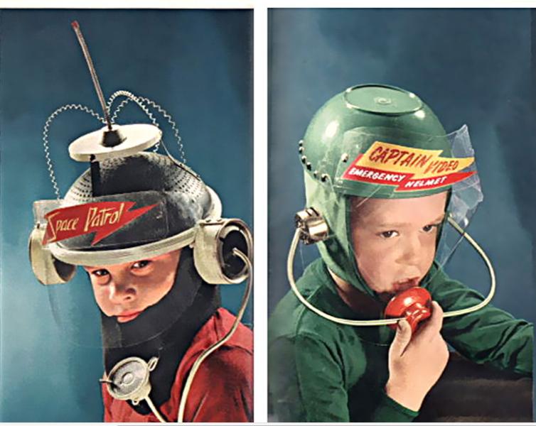 Casques d'astronautes pour enfants à partir d'objets ménagers recyclés