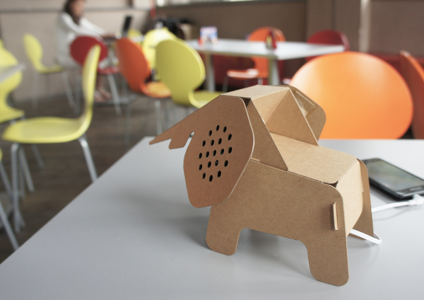 Top Une série d'objets-animaux en carton recyclé, à assembler soi-même  OF91