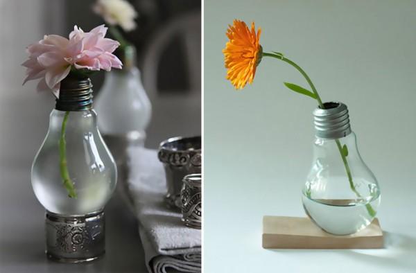 ampoules recycl es en objets d co sur design recyclers. Black Bedroom Furniture Sets. Home Design Ideas