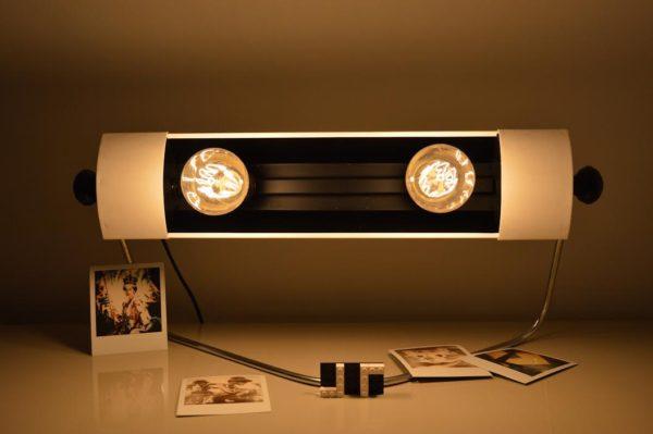 Lampe à partir d'un radiateur vintage - recyclage par ArtJL