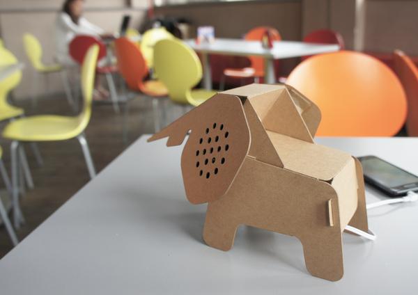 souvent Une série d'objets-animaux en carton recyclé, à assembler soi-même  RX76